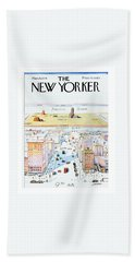 New Yorker March 29, 1976 Bath Towel