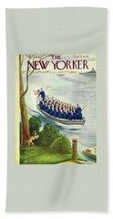 New Yorker May 9th 1942 Bath Towel