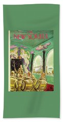 New Yorker November 13th 1943 Bath Towel