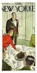 New Yorker November 27th 1943 Bath Towel