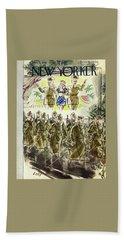 New Yorker November 7th 1942 Bath Towel