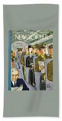New Yorker September 18th 1943 Bath Towel