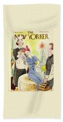 New Yorker September 4th 1943 Bath Towel