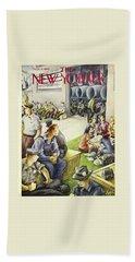 New Yorker September 5th, 1942 Bath Towel