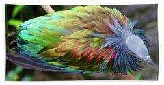 Nicobar Pigeon Hand Towel