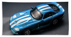 Night Drives Bath Towel