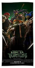 Ninja Turtles 2014 Poster Hand Towel