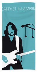 No215 My Supertramp Minimal Music Poster Hand Towel