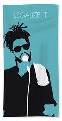 No225 My Peter Tosh Minimal Music Poster Bath Towel