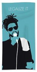 No225 My Peter Tosh Minimal Music Poster Bath Towel