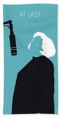 No235 My Etta James Minimal Music Poster Bath Towel