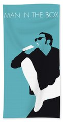 No245 My Alice In Chains Minimal Music Poster Bath Towel