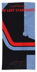 No999 My The Last Starfighter Minimal Movie Poster Bath Towel