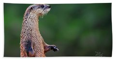 Norman The Otter Hand Towel