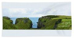 Northern Ireland Coast Bath Towel