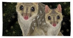 Northern Quoll 3 Bath Towel