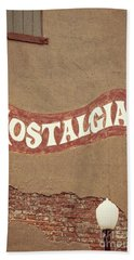 Nostalgia  Bath Towel
