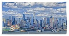 Nyc Skyline Bath Towel