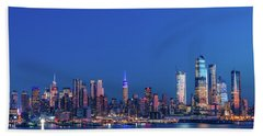 Nyc The Blue Hour Hand Towel