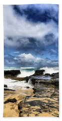 Oahu Shoreline Bath Towel