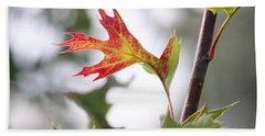 Oak Leaf Turning Hand Towel