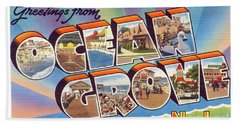 Ocean Grove Greetings Bath Towel