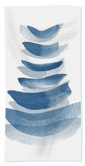 Ocean Zen 2 - Art By Linda Woods Hand Towel