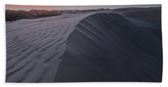 Oceano Dunes Sunset Hand Towel
