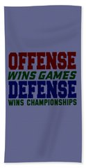 Offence Defense Hand Towel