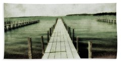 Okoboji Docks Bath Towel