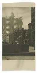 Old And New New York, Alfred Stieglitz, 1910 Hand Towel