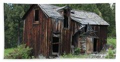 Old Cabin - Elkhorn, Mt Bath Towel