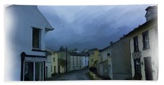 Old Laxey Village 1 Bath Towel