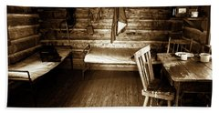 Old Mining Cabin Hand Towel