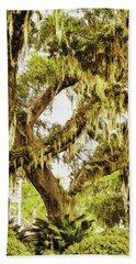 Old Mossy Oaks Hand Towel