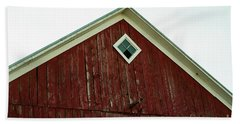 Old Red Barn Bath Towel