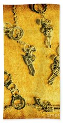 Old Western Justice Hand Towel