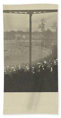 On The Racecourse, Alfred Stieglitz, 1904 Hand Towel