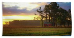 Bath Towel featuring the photograph Onc Open Road Sunrise by Cindy Lark Hartman