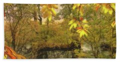 Once A Pond A Time Bath Towel