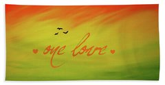 One Love Hand Towel