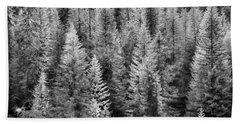 One Of Many Alp Trees Bath Towel