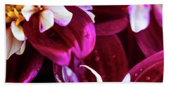 Bath Towel featuring the photograph One Strand by Onyonet  Photo Studios