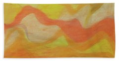 Orange Colors 1 Hand Towel