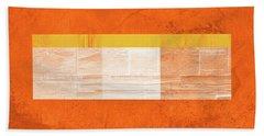 Orange Paper IIi Hand Towel
