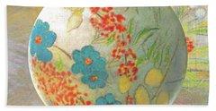 Oriental Floralscape  Hand Towel
