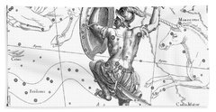 Orion, The Austral Constellation Of The Great Hunter Bath Towel