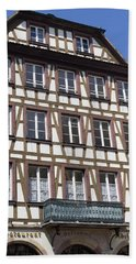 Ortenberg Restaurant Strasbourg France Bath Towel