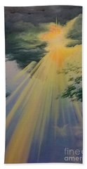 Out Of Darkness His Light Shall Shine Hand Towel