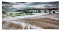 Outer Banks Nc North Carolina Beach Seascape Photography Obx Bath Towel